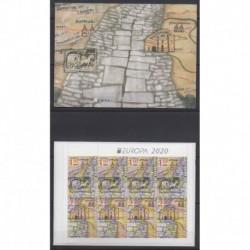 Bulgarie - 2020 - No C4586 - Service postal - Europa
