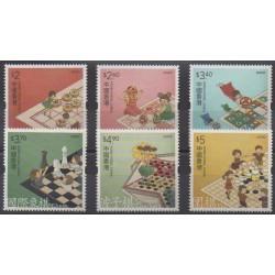 Hong-Kong - 2020 - No 2141/2146 - Échecs - Enfance