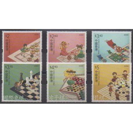 Hong Kong - 2020 - Nb 2141/2146 - Chess - Childhood