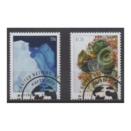 United Nations (UN - New York) - 2020 - Nb 1689/1690 - Environment - Used