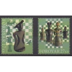 Féroé (Iles) - 2020 - No 985/986 - Échecs