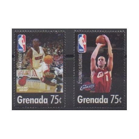 Grenade - 2005 - Nb 4649/4650 - Various sports