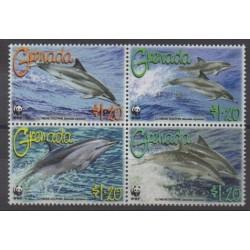 Grenade - 2007 - Nb 4987/4990 - Mamals - Endangered species - WWF
