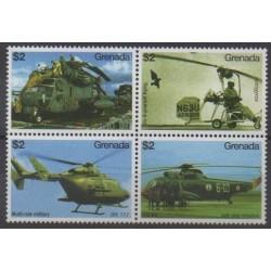 Grenade - 2007 - No 4991/4994 - Hélicoptères