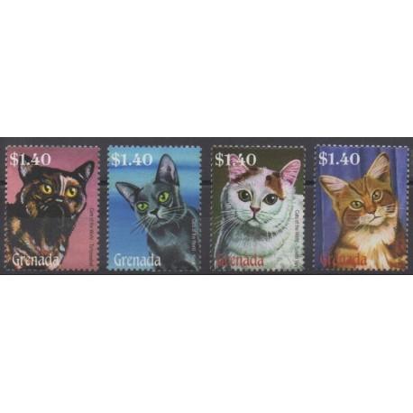 Grenade - 2008 - Nb 5071/5074 - Cats