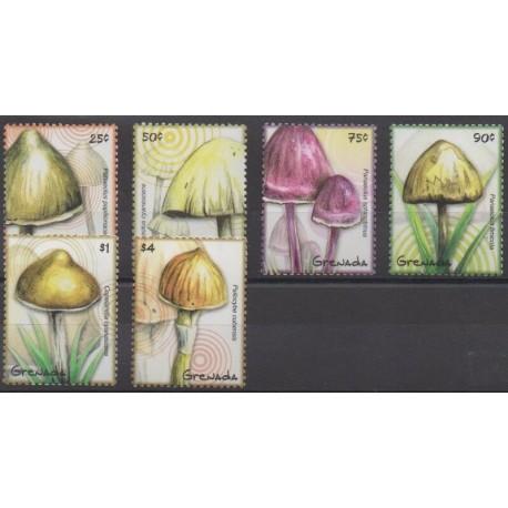 Grenade - 2009 - Nb 5096/5101 - Mushrooms
