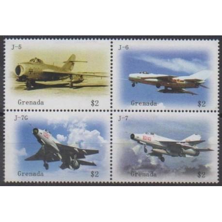 Grenade - 2009 - Nb 5186/5189 - Planes
