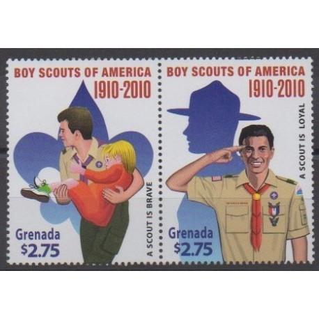 Grenade - 2010 - Nb 5218/5219 - Scouts
