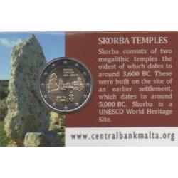 2 euro commémorative - Malta - 2020 - Pre-historic temples of Skorba - BU