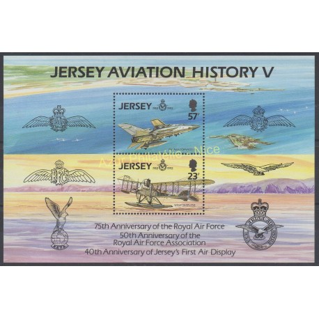Jersey - 1993 - Nb BF 7 - Planes