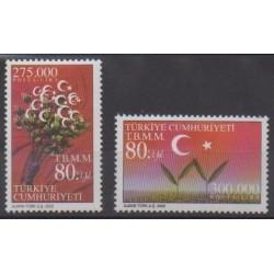 Turquie - 2000 - No 2945/2946