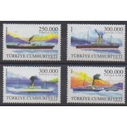 Turkey - 2001 - Nb 3008/3011 - Boats