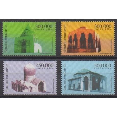 Turkey - 2001 - Nb 3016/3019 - Monuments