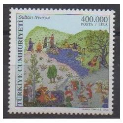 Turkey - 2002 - Nb 3025 - Paintings
