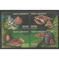 Turkey - 2002 - Nb 3042/3045 - Sea life