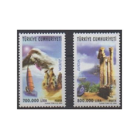 Turkey - 2004 - Nb 3105/3106 - Europa