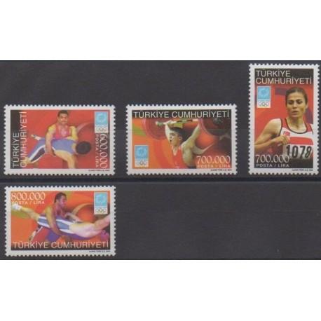 Turkey - 2004 - Nb 3122/3125 - Summer Olympics