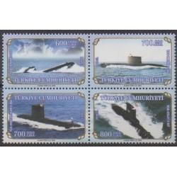 Turkey - 2004 - Nb 3127/3130 - Boats