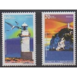 Turkey - 2005 - Nb 3160/3161 - Lighthouses