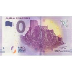 Euro banknote memory - 11- Château de Queribus - 2017-1