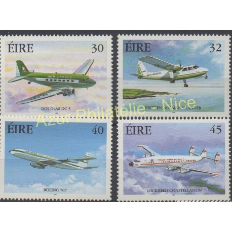 Ireland - 1999 - Nb 1184/1187 - Planes