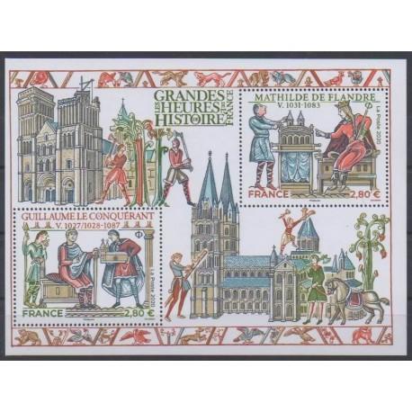 France - Blocks and sheets - 2020 - Nb F5455 - Various Historics Themes