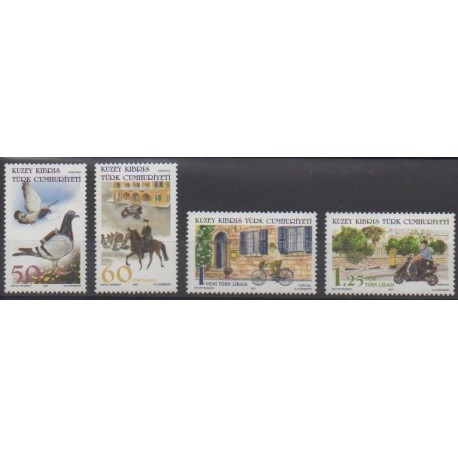 Turkey - Northern Cyprus - 2007 - Nb 622/625 - Postal Service