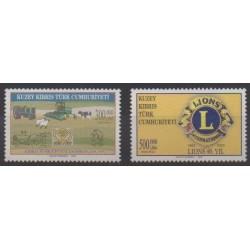 Turkey - Northern Cyprus - 2003 - Nb 551/552 - Rotary or Lions club