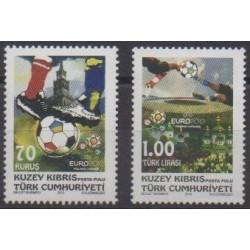 Turkey - Northern Cyprus - 2012 - Nb 711/712 - Football
