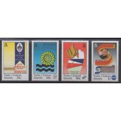 Turks et Caiques (Iles) - 1998 - No 1298/1301