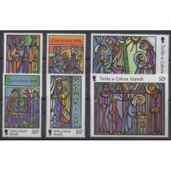 Turks et Caiques (Iles) - 1998 - No 1302/1307 - Noël