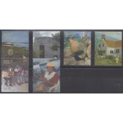 Turks et Caiques (Iles) - 2002 - No 1507/1512 - Royauté - Principauté