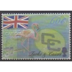 Turks et Caiques (Iles) - 2003 - No 1587 - Oiseaux