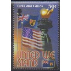 Turks and Caicos ( Islands) - 2002 - Nb 1535 - Various Historics Themes