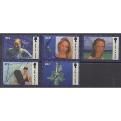 Turks et Caiques (Iles) - 2003 - No 1588/1592 - Sports divers
