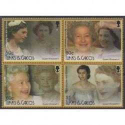 Turks et Caiques (Iles) - 2006 - No 1648/1651 - Royauté - Principauté