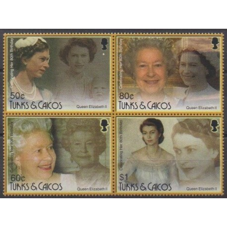 Turks and Caicos ( Islands) - 2006 - Nb 1648/1651 - Royalty