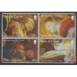 Turks et Caiques (Iles) - 2006 - No 1652/1655 - Peinture