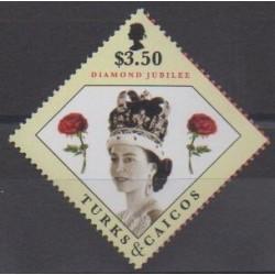 Turks et Caiques (Iles) - 2012 - No 1730 - Royauté - Principauté