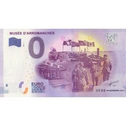 Euro banknote memory - 14 - Musée D'Arromanches - 2017-1