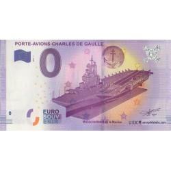 Billet souvenir - Porte-avions Charles De Gaulle - 2017