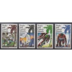 Turks and Caicos ( Islands) - 1988 - Nb 788/791 - Summer Olympics