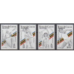 Turks and Caicos ( Islands) - 1990 - Nb 910/913 - Summer Olympics