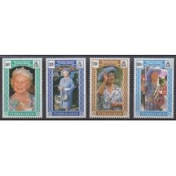 Turks and Caicos ( Islands) - 1990 - Nb 895/898 - Royalty