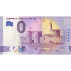 Euro banknote memory - 30 - Remparts d'Aigues-Mortes - 2020-1