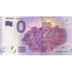 Euro banknote memory - 24 - Beynac - 2017-1 - Nb 55