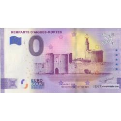 Euro banknote memory - 30 - Remparts d'Aigues-Mortes - 2020-1 - Anniversary