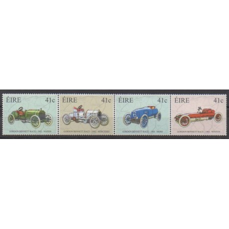 Ireland - 2003 - Nb 1511/1514 - Cars