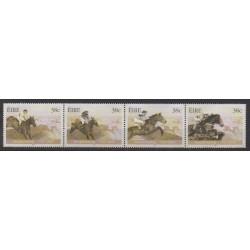 Ireland - 2002 - Nb 1423/1426 - Horses - Various sports