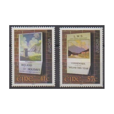 Ireland - 2003 - Nb 1504/1505 - Art - Europa